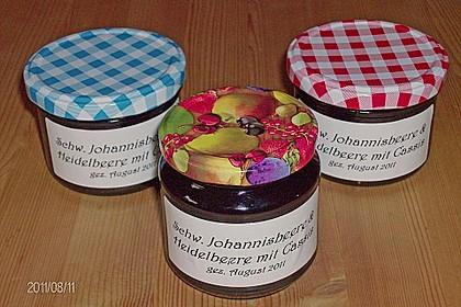 Johannisbeer - Blaubeer - Marmelade 2