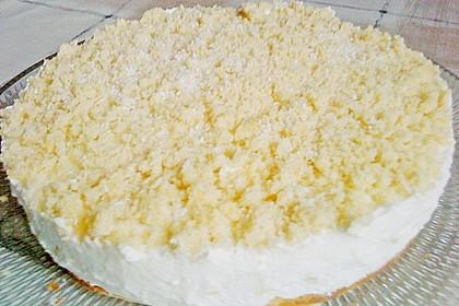 Ananas - Sahnetorte mit weißer Schokolade 5