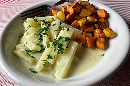 Kohlrabi in Zitronensauce (Bild)
