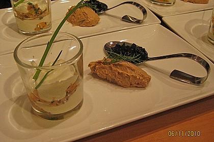 Wasabi - Mousse mit Räucherlachs 5