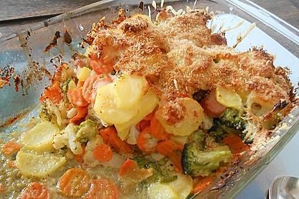 Gemüseauflauf 2