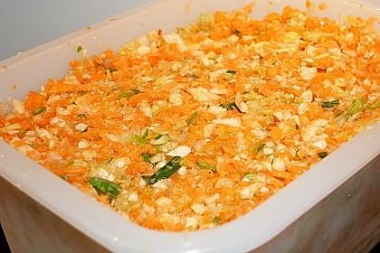 Eingesalzenes Gemüse für Gemüsebrühe 34