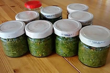 Eingesalzenes Gemüse für Gemüsebrühe 25