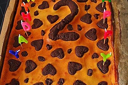 Russischer Zupfkuchen vom Blech für den Kindergeburtstag 72