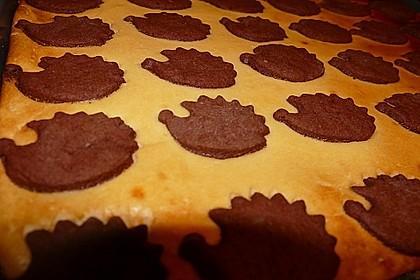 Russischer Zupfkuchen vom Blech für den Kindergeburtstag 30