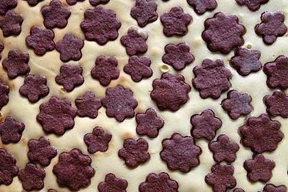Russischer Zupfkuchen vom Blech für den Kindergeburtstag 79