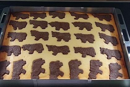 Russischer Zupfkuchen vom Blech für den Kindergeburtstag 65