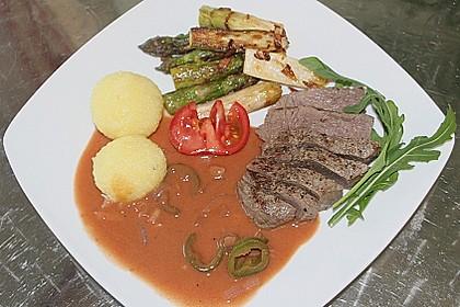 Steak au poivre 4