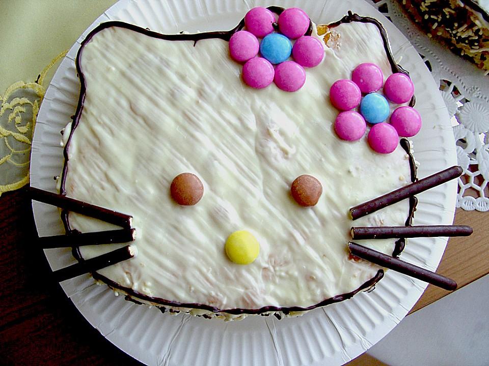 Hello Kitty Kinderkuchen Von Nattijosie Chefkoch De