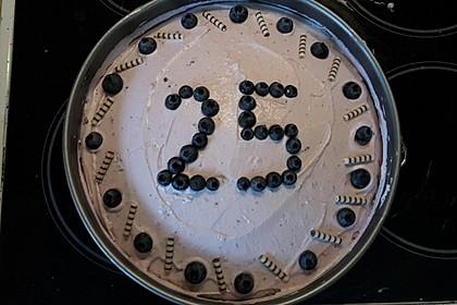Heidelbeer -Joghurt -Topfen Torte 3