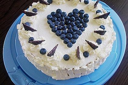 Heidelbeer -Joghurt -Topfen Torte