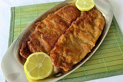 Zitronen-Schnitzel mit Parmesanpanade 1