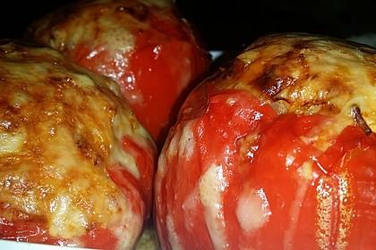 Gefüllte Paprika mit Couscous (Bild)