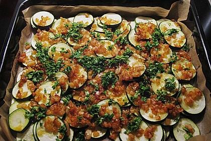 Marokkanische Chermoula - Zucchini 5