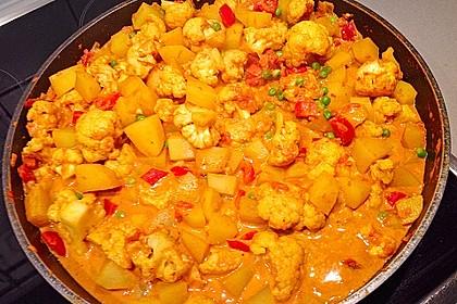 Blumenkohl-Kartoffel-Curry 4