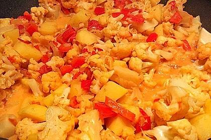 Blumenkohl-Kartoffel-Curry 5