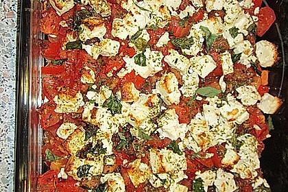 Schnelle Leichte Sommerküche Ofentomaten Mit Hähnchen : Ofen tomaten mit feta von alexandradugas chefkoch.de