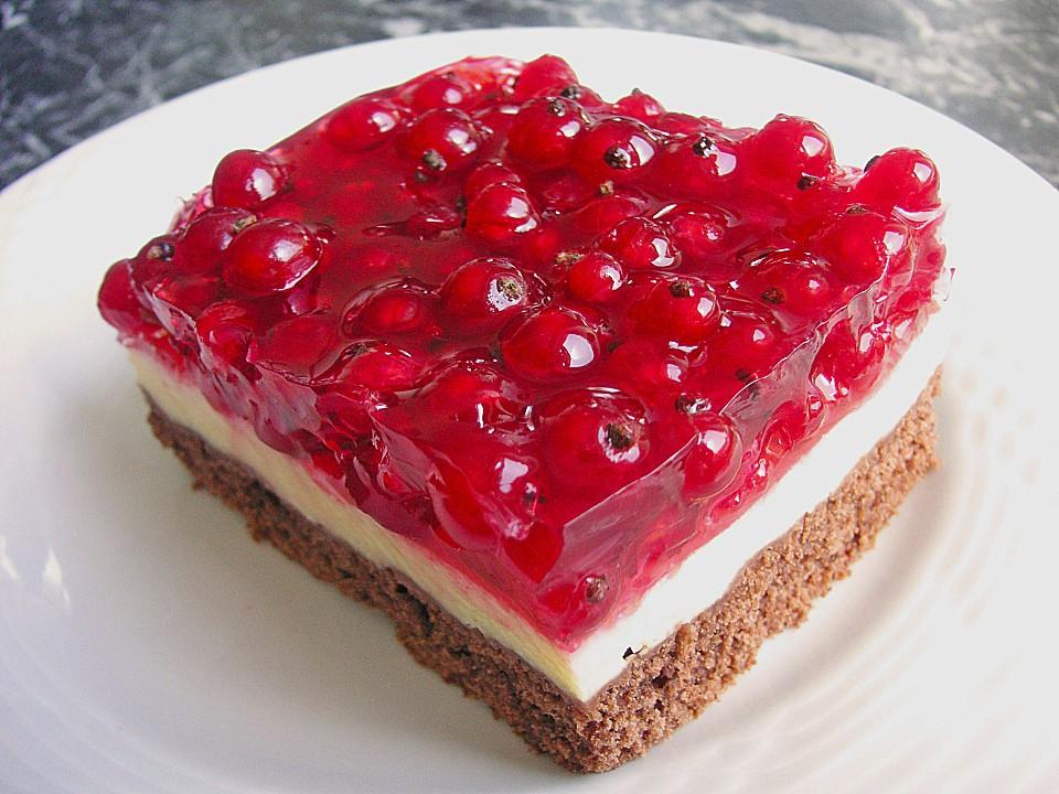 Johannisbeerkuchen Mit Schmand Pudding Creme Von Meggixx