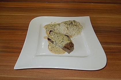 Rindersteaks mit Senf-Estragon Sauce 4