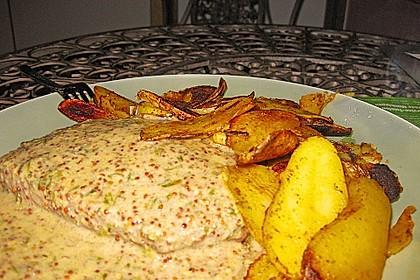 Rindersteaks mit Senf-Estragon Sauce 9