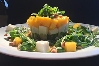 Avocado-Mozzarella-Salat mit Mango 30