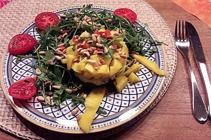 Avocado-Mozzarella-Salat mit Mango 37
