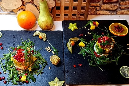 Avocado-Mozzarella-Salat mit Mango 36