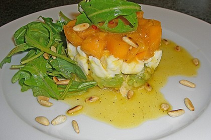 Avocado-Mozzarella-Salat mit Mango 32