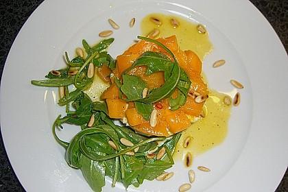 Avocado-Mozzarella-Salat mit Mango 52