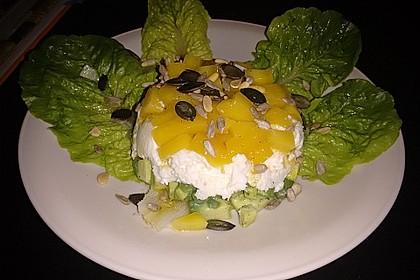 Avocado-Mozzarella-Salat mit Mango 74