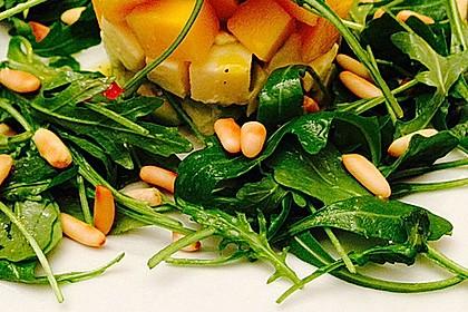 Avocado-Mozzarella-Salat mit Mango 24