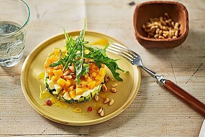 Avocado-Mozzarella-Salat mit Mango 3