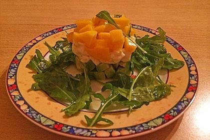 Avocado-Mozzarella-Salat mit Mango 55