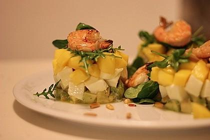 Avocado-Mozzarella-Salat mit Mango 6