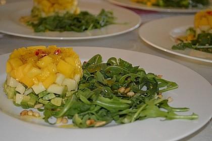 Avocado-Mozzarella-Salat mit Mango 29