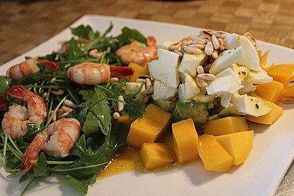 Avocado-Mozzarella-Salat mit Mango 34