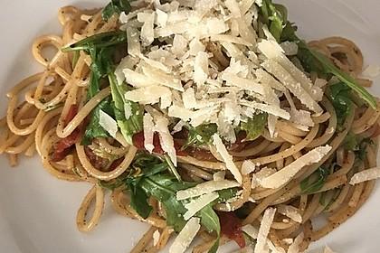 Pasta mit Tomaten und Rucola 6