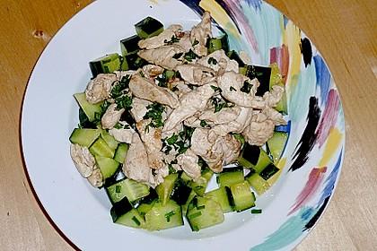 Sommerlicher Hähnchensalat 1