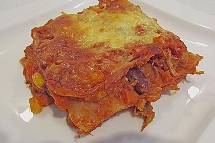Mexiko-Lasagne 7