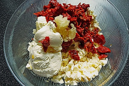 Feta - Tomaten - Frischkäse - Creme 4