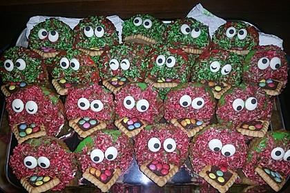 Krümelmonster-Muffins (Bild)