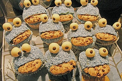 Krümelmonster-Muffins 262