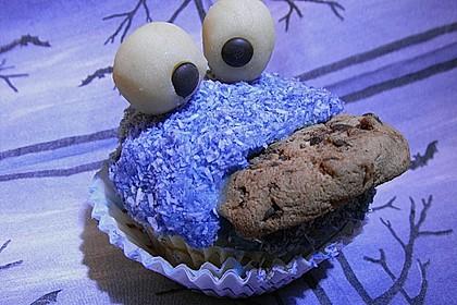 Krümelmonster-Muffins 128
