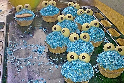 Krümelmonster-Muffins 392