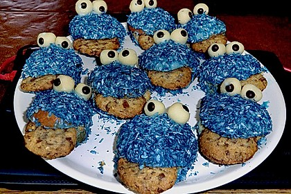 Krümelmonster-Muffins 296