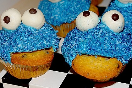 Krümelmonster-Muffins 60
