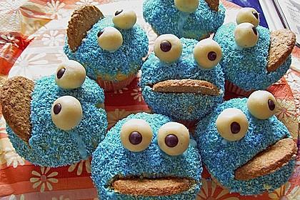 Krümelmonster-Muffins 21