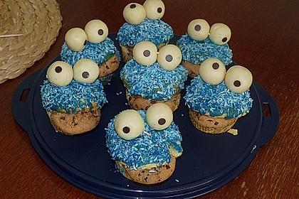 Krümelmonster-Muffins 105