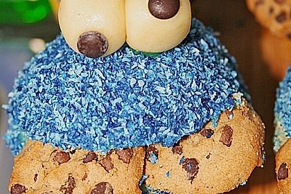 Krümelmonster-Muffins 370