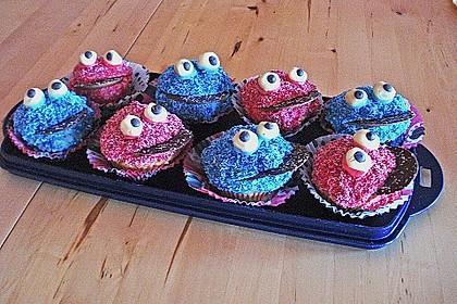 Krümelmonster-Muffins 267